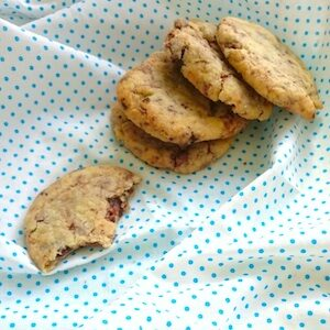 chocoladekoekjes koekjes bakken kind