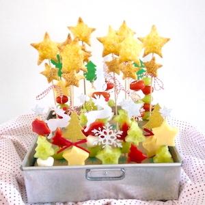 kinderen recept kerst oud nieuw hapje borrel buffet
