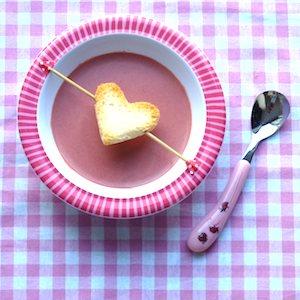 recept kinderen roze soep