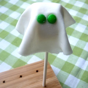 traktatie kind spook marshmallow